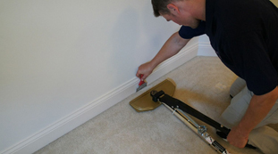 Carpet Stretching after Water Damage